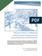 Broad Street Corridor Streetscape Design Plan.pdf