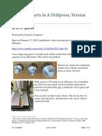 Centering Parts Drill Press