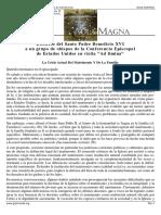 30 Noviazgo y Preparación Al Matrimonio2. Benedicto XVI