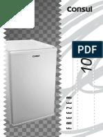 Manual freezer Consul 98l CVT10B_manual