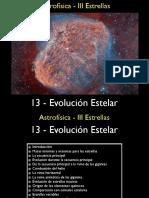 Evolucion Estelar