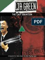 Delta Green RPG - Adv - The Last Equation.pdf