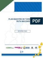 Plan Maestro de Turismo con enfoque territorial para la Ruta Macondo