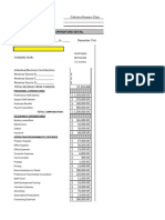 program budget spreadsheet