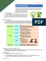 Argumentative Essay Worksheets 5