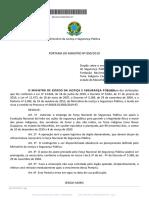 Portaria 890/19 - Força Nacional em território guajajara
