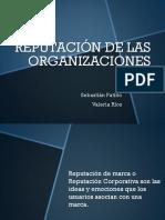 Reputación de las organizaciones