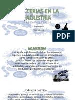 BACTERIAS EN LA  INDUSTRIA.pptx