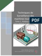 Techniques de Surveillance Des Machines Tournantes Tome 1 Analyse Vibratoire
