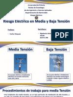 Riesgo Electrico en Baja Tension