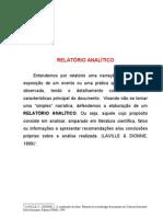 relatorio analitico estagio