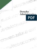 DICCIONARIOS JURIDICOS TEMATICOS - VOLUMEN 2 -  DERECHO ADMINISTRATIVO - RAFAEL l. MARTíNEZ MORALES.pdf