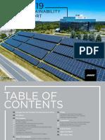 Bose 2019 Sustainability Report