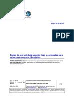 INTE 06-09-02-10 -  Barras de Acero de Baja Aleación Lisas y Corrugadas para Refuerzo de Concreto - Requisitos.pdf