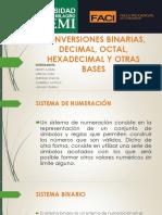 CONVERSIONES BINARIAS, DECIMAL, OCTAL, HEXADECIMAL (1).pptx