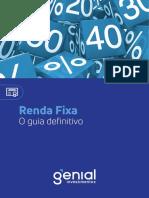 eBook - Renda Fixa - Guia Definitivo