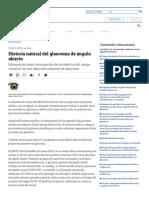 Historia Natural Del Glaucoma de Ángulo Abierto - Artículos - IntraMed