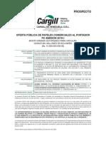PROSPECTO CARGILL PPCC 2019