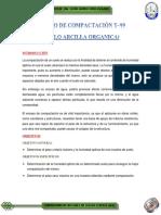 Compactacion_Arcilla inorganica