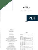 BURKE de Lo Sublime Pp 7-19