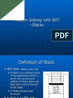 Algorithms 7 Stack1