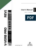 Rev 2496 Manual