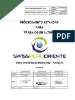 PROC. 016 - Procedimiento Estandar para Trabajos Altura.pdf