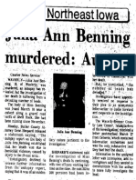 1976 4 13 Waterloo Courier Benning Autopsy