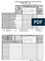 Acta Evaluacion Primaria 2012