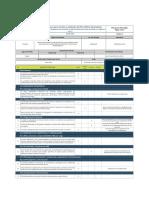 Lista de Chequeo Del Plan HSE