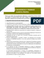 VISADOS RESIDENCIA Y TRABAJO POR CUENTA PROPIA.pdf