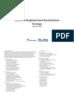 Rockford Neighborhood Revitalization Strategy