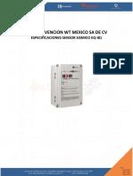 Especificaciones y Caracteristicas-sensor Sismico Eq-i81-n