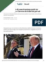 Análise - Excesso de Americanismo Pode Ter Afastado Exxon e Chevron de Leilão Do Pré Sal Brasil - Valor Econômico