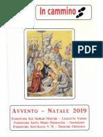 In Cammino - Giornalino  Parrocchiale - Avvento - Natale 2019