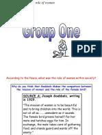 Role of Women - Alternative Group Task.ppt