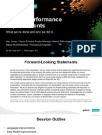 Splunk Search and Performance Improvements