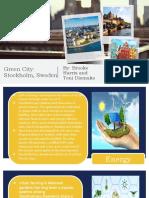 green city presentation  stockholm sweden