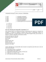 Avaliação_CENTRO CNC 2011 - Para Os Alunos Para o CAI