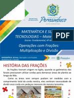 Operações com frações - multiplicação e divisão.pptx