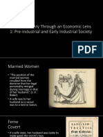 Gender History Through an Economic Lens 1