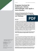 Programa Nacional de Imunizaçao desafios da informatização.pdf