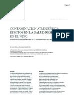 Contaminación Atmosférica Efectos en La Salud Respiratoria en El Niño