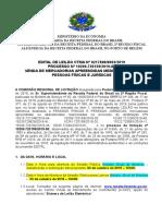 Edital Ananindeua 2019