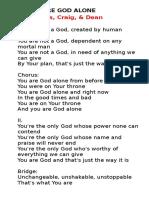 Rone Lyrics