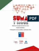 Informe de Cursos B-learning TMM CON ANUAL 2019