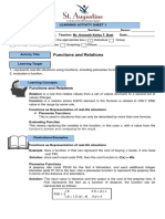 Learning Activity Sheet