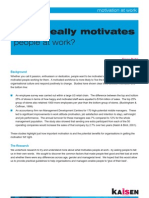 What Really Motivates People at Work