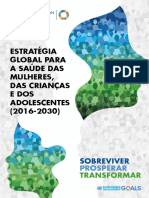 A Estratégia Global Para a Saúde Da Mulher, Da Criança e Do Adolescente (2016 - 2030)
