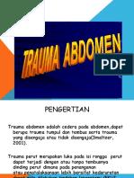 MULTIPLE TRAUMA  (  ABDOMEN ).pptx